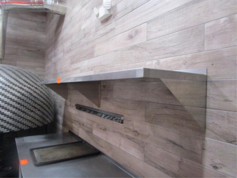 (2) 4' Stainless Steel Wall Shelves - Image 2 of 2