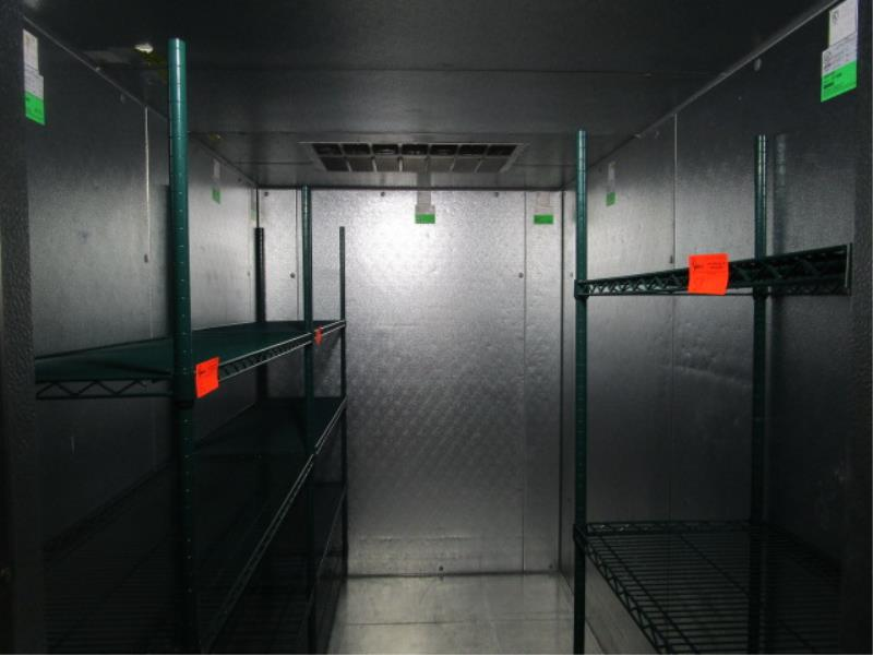 """Walk In Cooler by Norlake, Approx. 10' x 91""""t x 6'w, Drop In Compressor, Cut Out In Rear For - Image 6 of 13"""