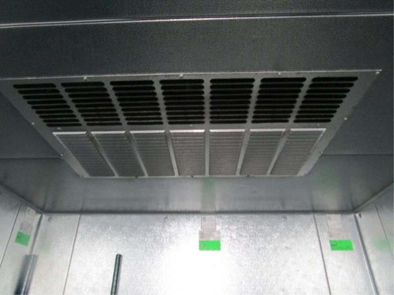 """Walk In Cooler by Norlake, Approx. 10' x 91""""t x 6'w, Drop In Compressor, Cut Out In Rear For - Image 7 of 13"""