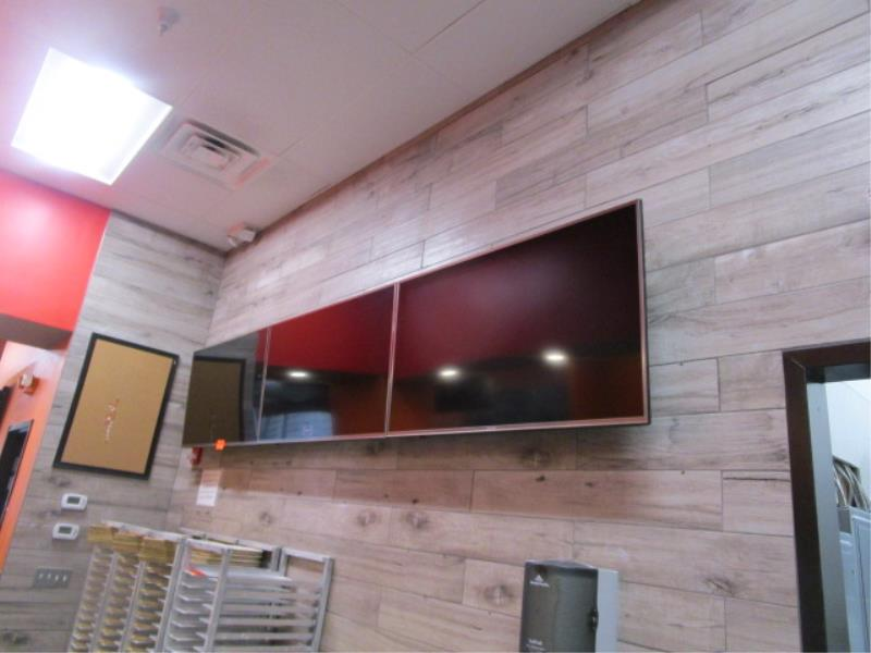 (3) Sharp TV's w/ Wall Mounting Bracket - Image 3 of 5