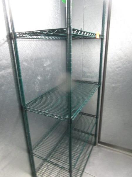 "Metal Wire Metro Style Rack, 36""' x 75"" x 18""d"