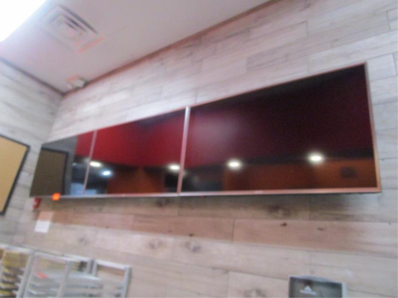 (3) Sharp TV's w/ Wall Mounting Bracket