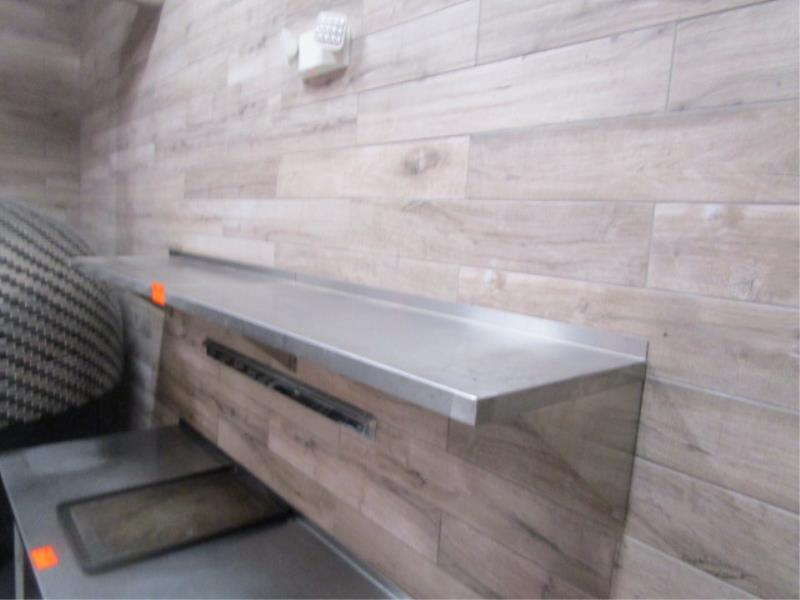 (2) 4' Stainless Steel Wall Shelves