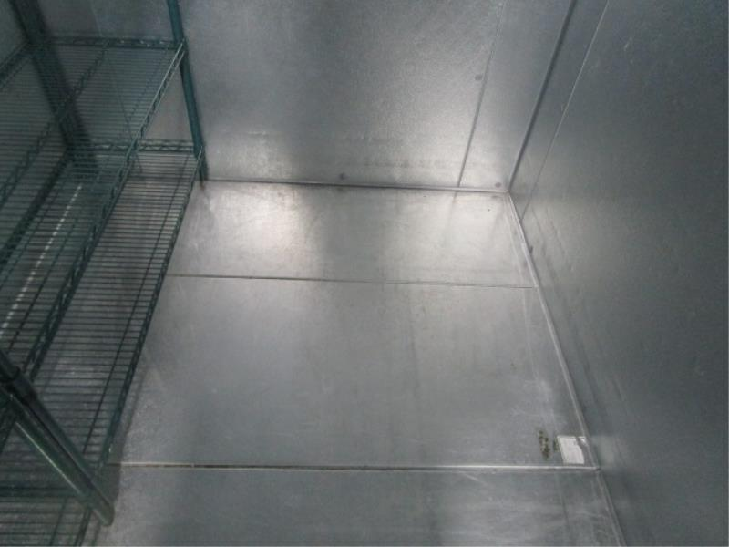 """Walk In Cooler by Norlake, Approx. 10' x 91""""t x 6'w, Drop In Compressor, Cut Out In Rear For - Image 8 of 13"""