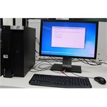 DELL PRECISION 3610 TOWER COMPUTER W/DELL MONITOR, KEYBOARD, MOUSE (WINDOWS 7)