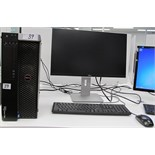 DELL PRECISION T3600 TOWER COMPUTER W/DELL MONITOR, KEYBOARD, MOUSE(WINDOWS 7)