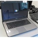 DELL XPSL502X i7 LAPTOP W/DOCKING STATION, KEYBOARD, MOUSE (WINDOWS 7)