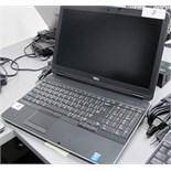 DELL PRECISION M2800 i7 VPRO LAPTOP W/DOCKING STATION, KEYBOARD, MOUSE (WINDOWS 7)