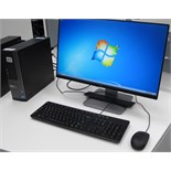 DELL OPTIPLEX 7010 i7 TOWER COMPUTER W/DELL MONITOR, KEYBOARD, MOUSE (WINDOWS 7)