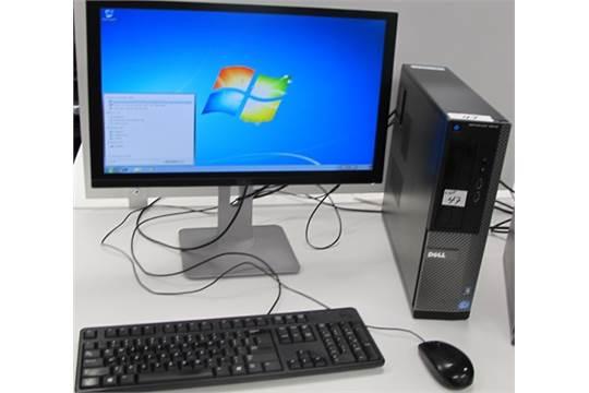 DELL OPTIPLEX 3010 i5 TOWER COMPUTER W/DELL MONITOR