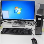 DELL OPTIPLEX 3020 i5 TOWER COMPUTER W/DELL MONITOR, KEYBOARD, MOUSE (WINDOWS 7)