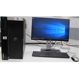 DELL PRECISION 7910 TOWER COMPUTER W/DELL MONITOR, KEYBOARD, MOUSE (WINDOWS 7)