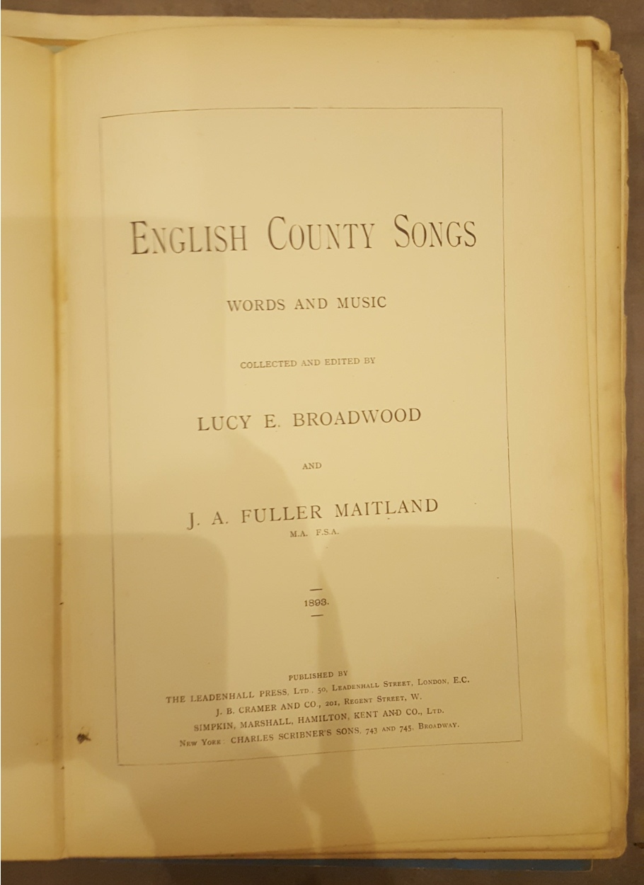 Lot 22 - Collection of English Folk Music