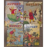 Lot 19 - 4 Rupert The Bear Annuals