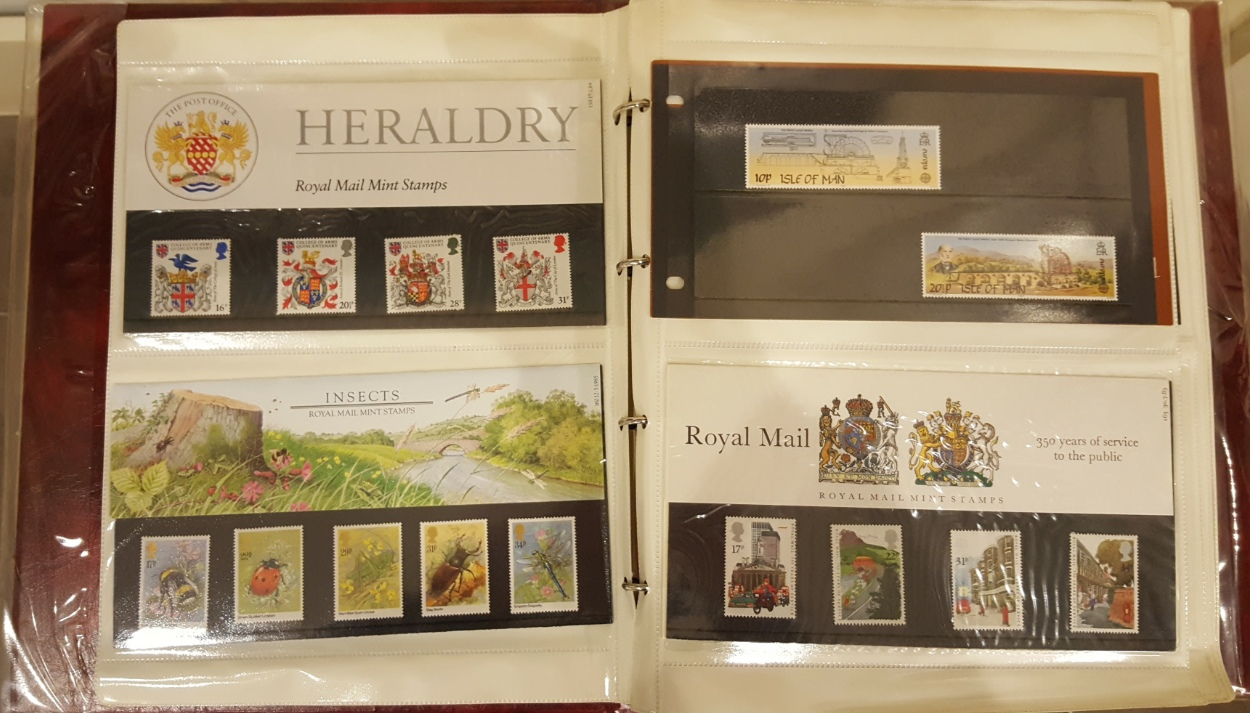 Lot 14 - 3 x Stamp Album