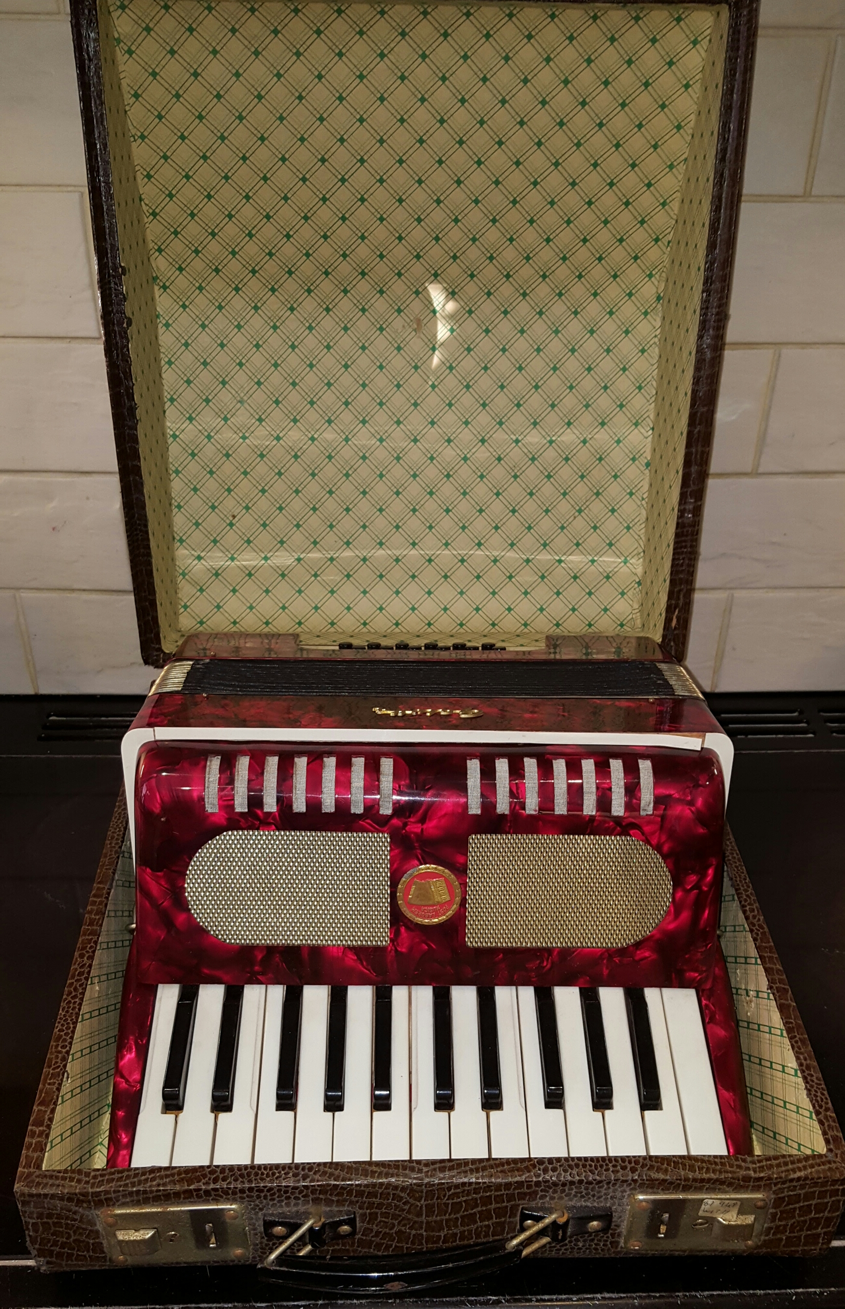 Lot 36 - Piano Accordion