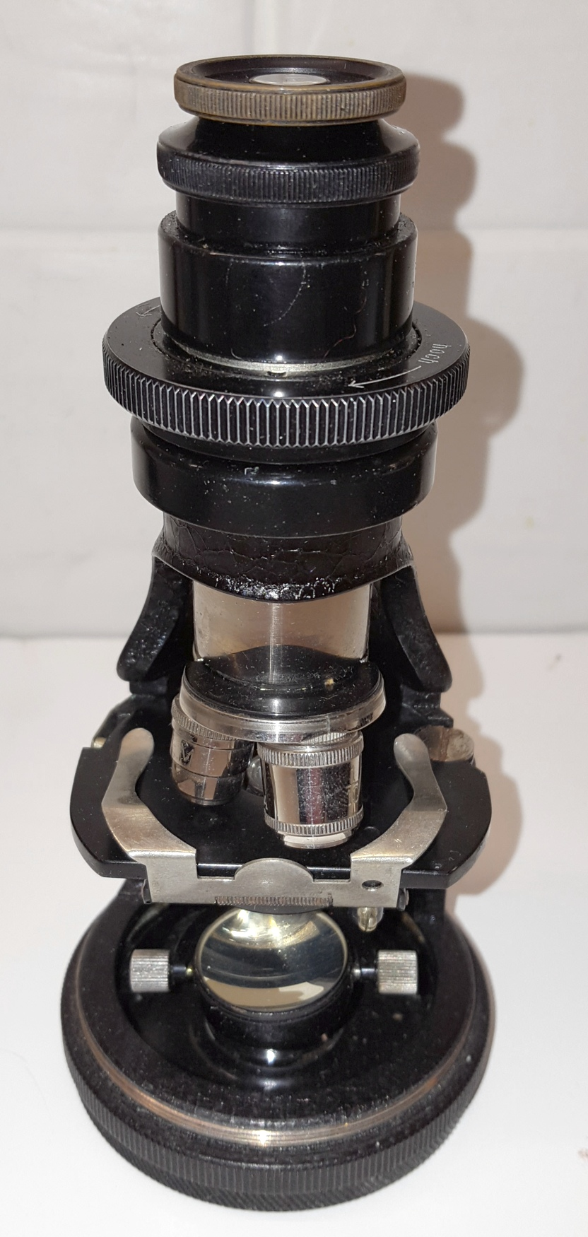 Lot 50 - Hensoldt Wetzlar 2915 Protami Pocket Field Microscope