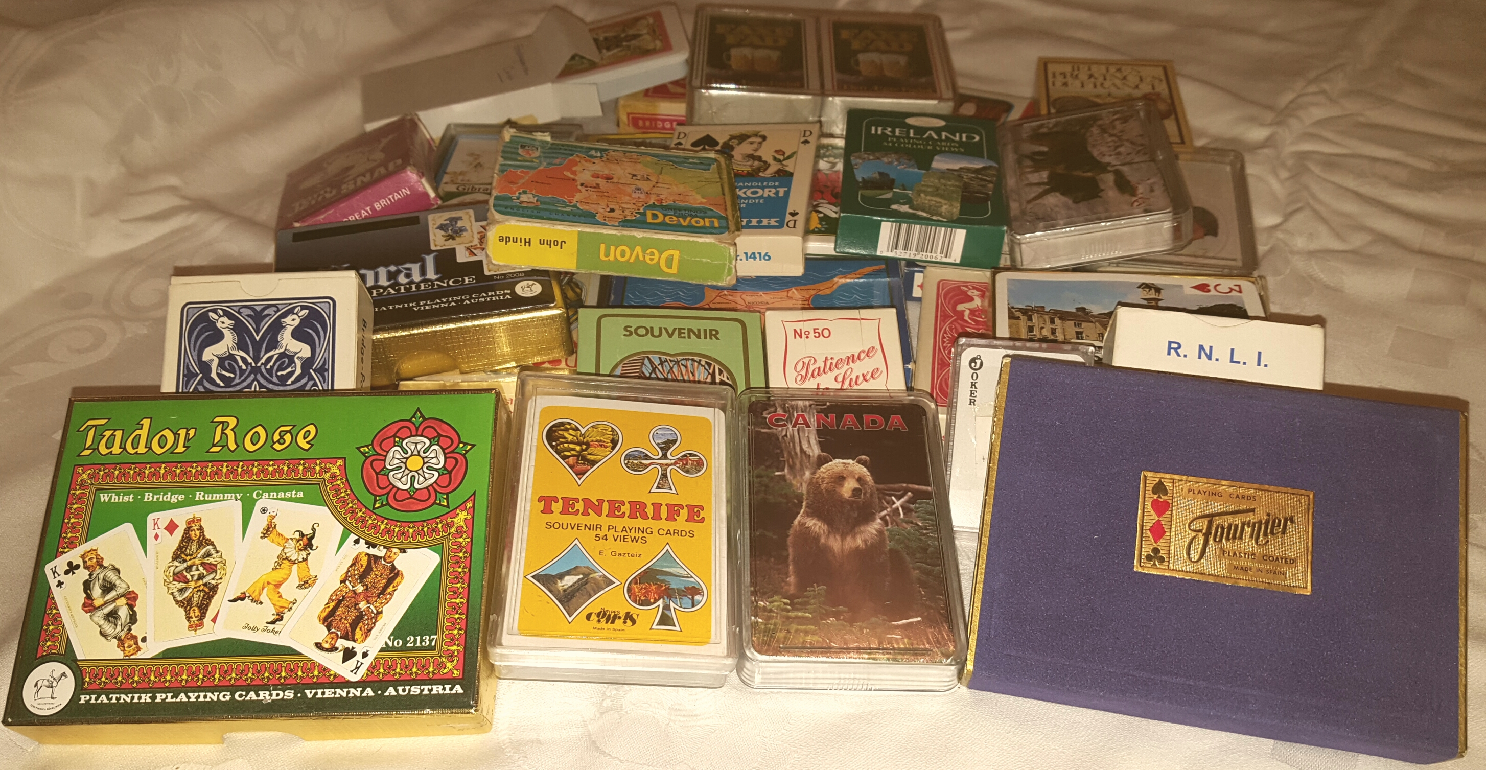 Lot 57 - Parcel of Collectable Playing Cards