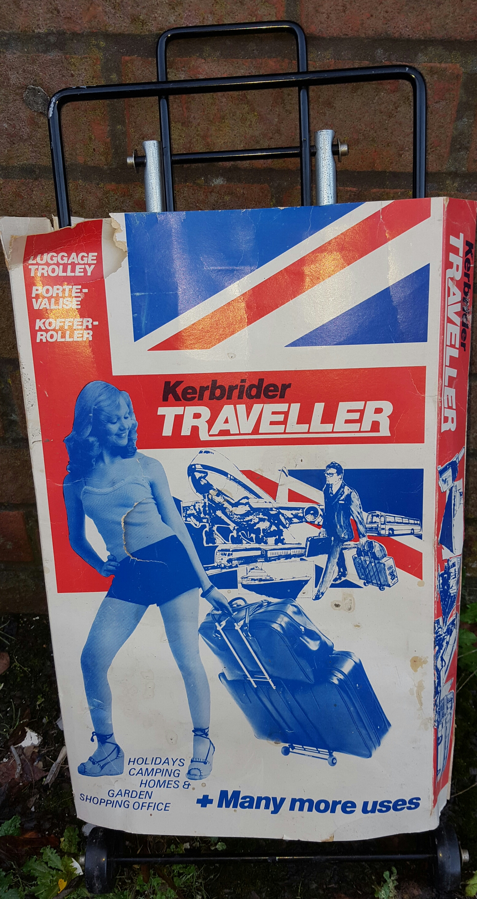 Lot 56 - Vintage Retro Bag Trolley