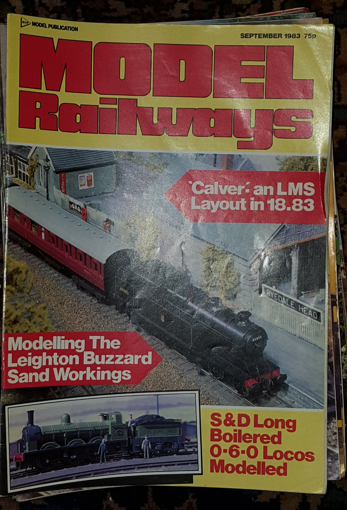 Lot 16 - Model Railway Magazines c1970's