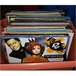 Lot 17 - Vinyl Records LP's and Singles