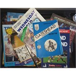 Lot 1 - Box Containing 400 Football Programmes