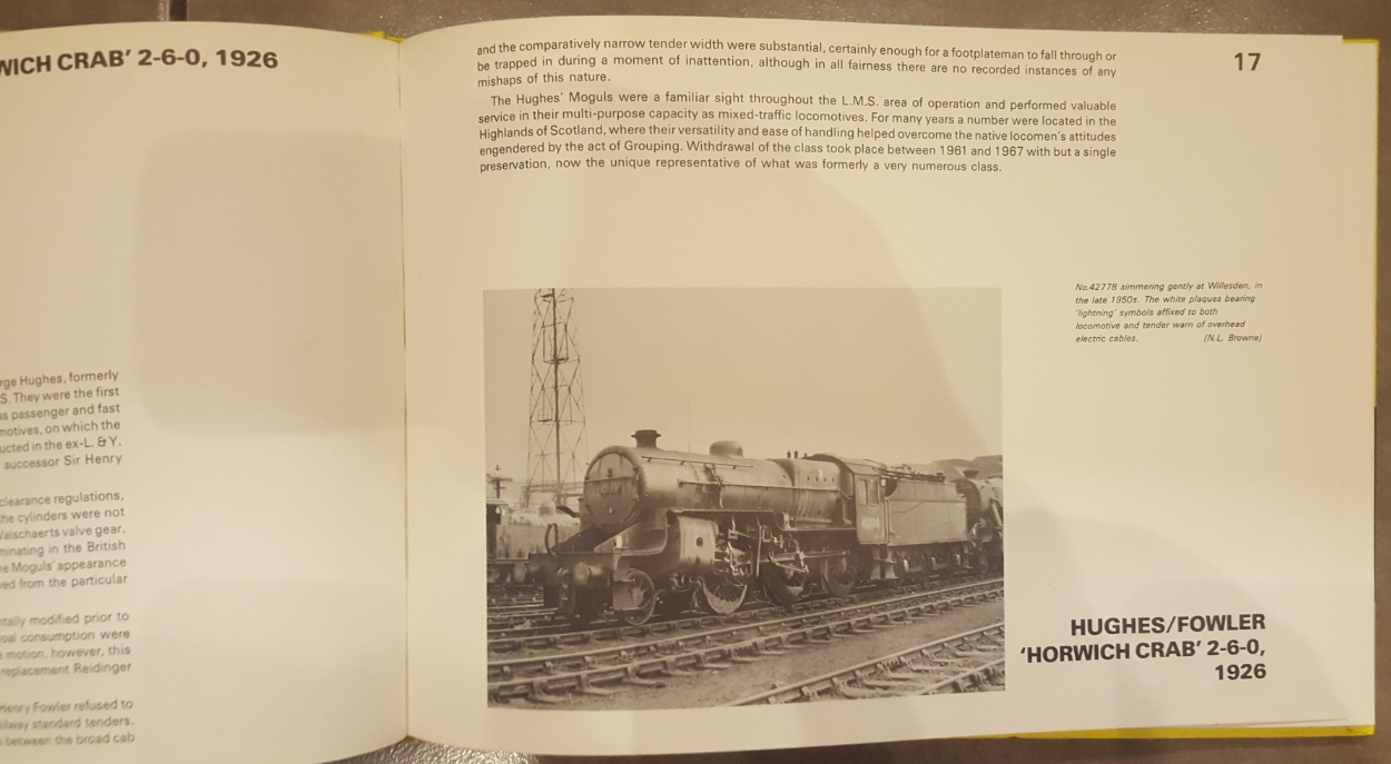 Lot 25 - Book L.M.S.R Locomotives To Scale ***reserve reduced***