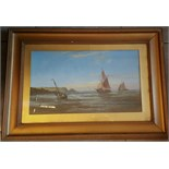Lot 31 - Early 20th Century Painting Watercolour on Board Nautical
