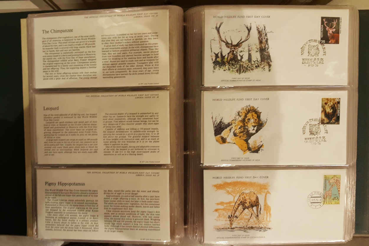 Lot 15 - Official Album of World Wildlife Covers