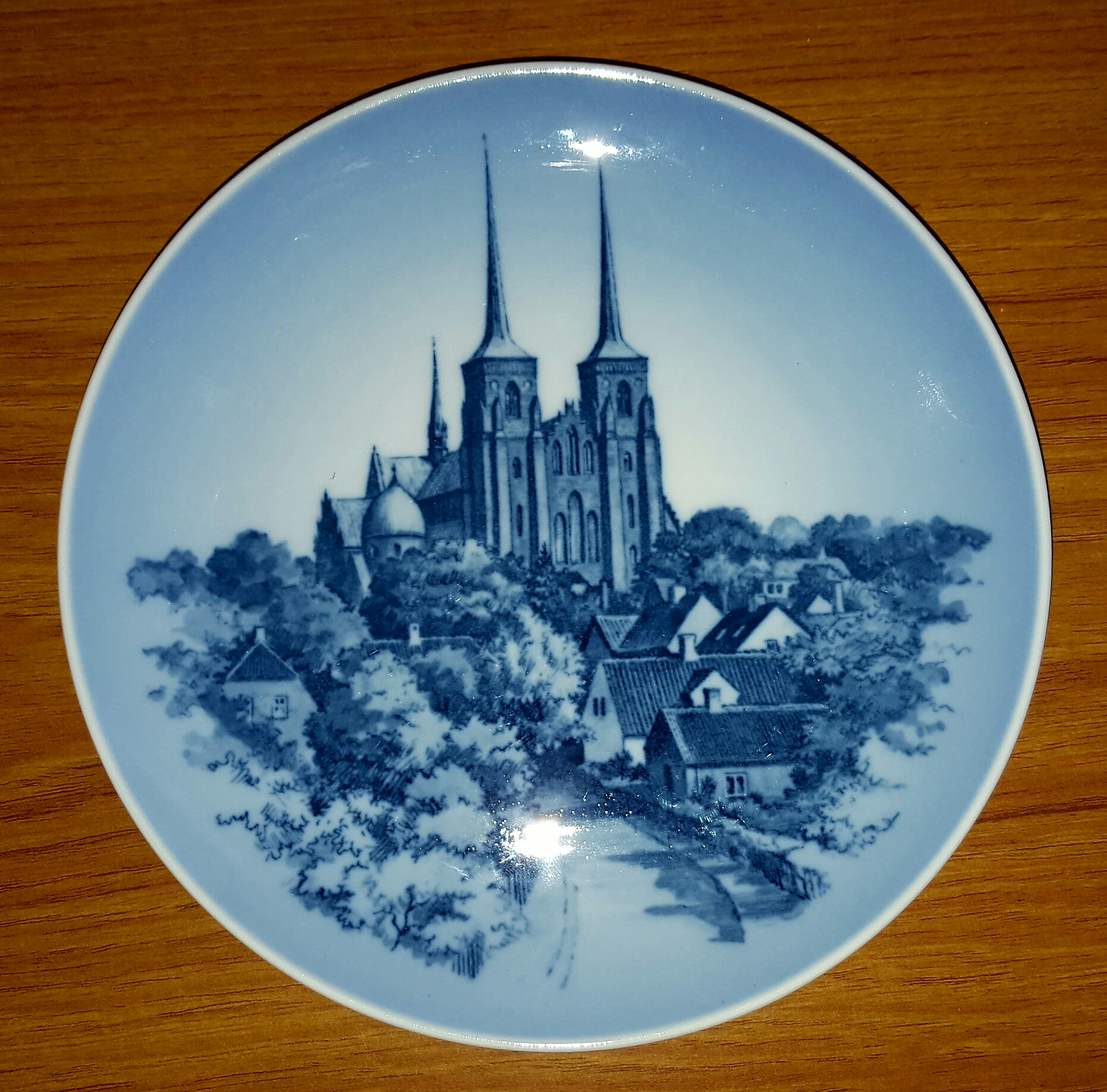 Lot 58 - Set of 6 Copenhagen Collectors Plates