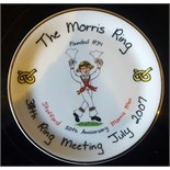 Lot 47 - 2 Morris Dancers Collectors Plates