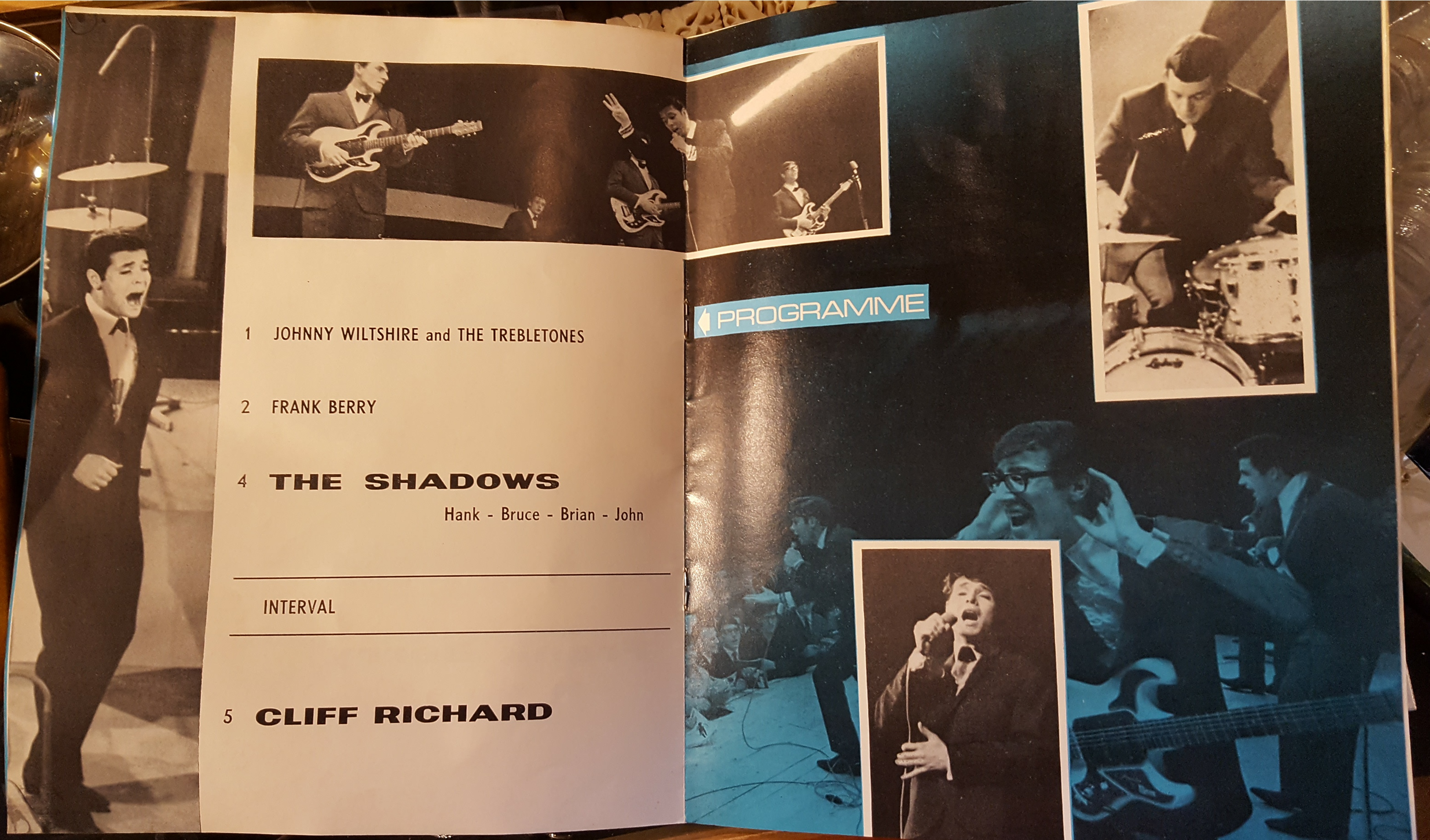 Lot 20 - Cliff Richard 1960's Programme