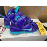PAIR NIKE LEBRON JAMES CHARLOTTE HORNETS EDITION - MENS / SIZE 10