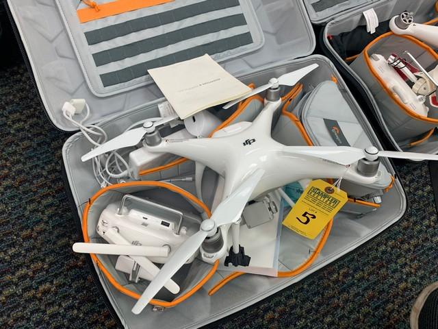 PHANTOM 4 ADVANCED DRONE WITH GL300C CONTROLLER