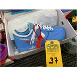 PAIR NIKE AIR FORCE ONE CI1173-400 - MENS / BLUE / SIZE 10