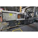 220 Ton Cincinnati Milacron VT220-20, shotsize 362oz., Platen size: 50cx60cm (Robot not included)