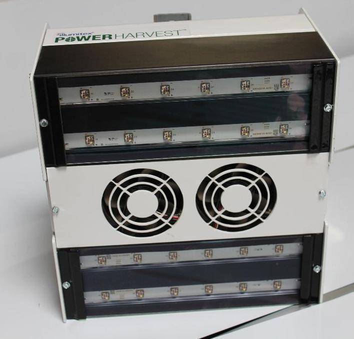 Lot 62 - 3 Illumitex Power Harvest LED Grow Lights