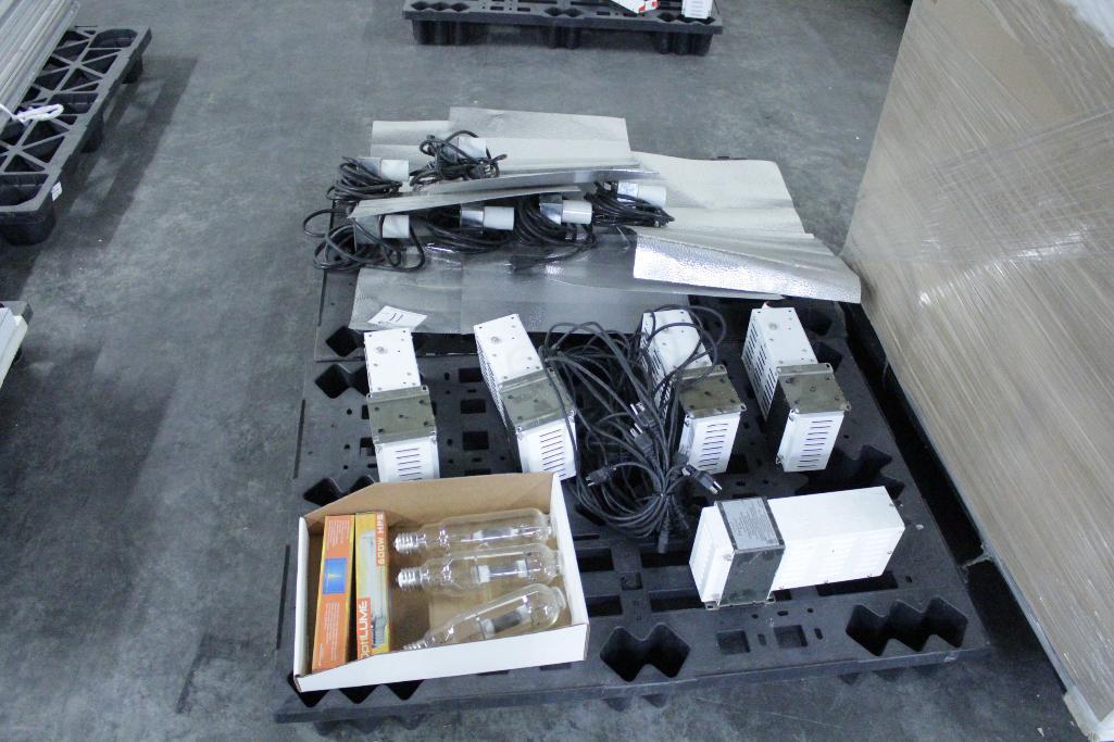Lot 11 - Sun System ballast w/ reflectors & bulb SLS-CWA-HPS600A / 2T