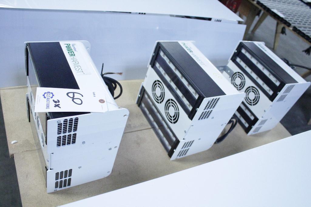 Lot 60 - 3 Illumitex Power Harvest LED Grow Lights
