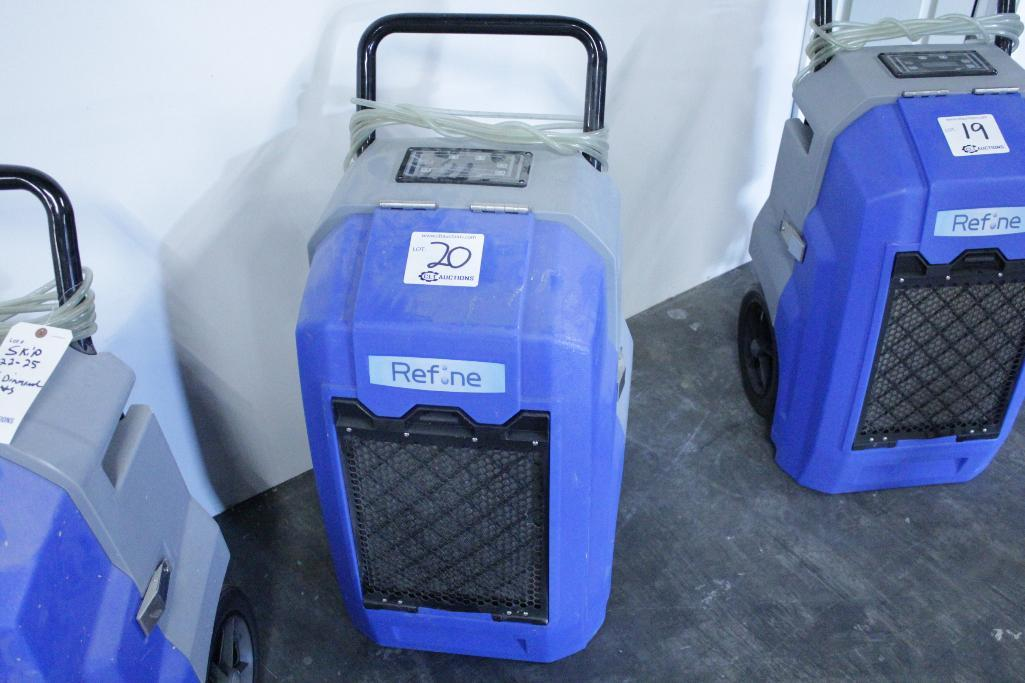 Lot 20 - Refine Renegade XD70 dehumidifier