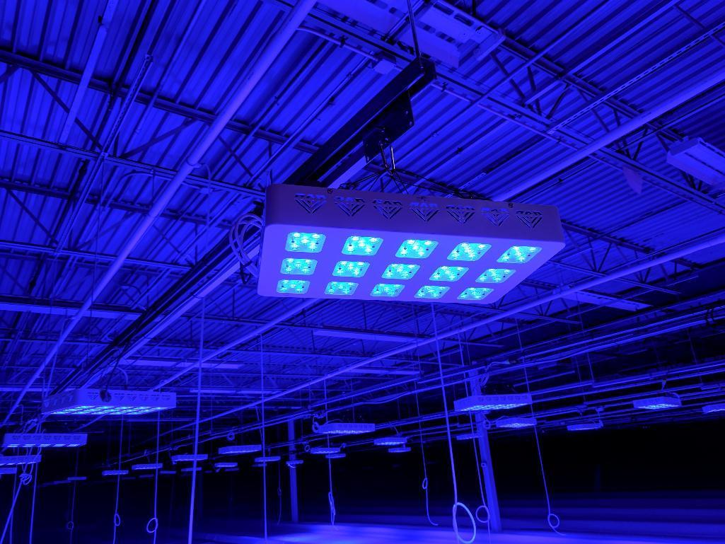 Lot 34 - Advanced led lights diamond series 300w LED grow light