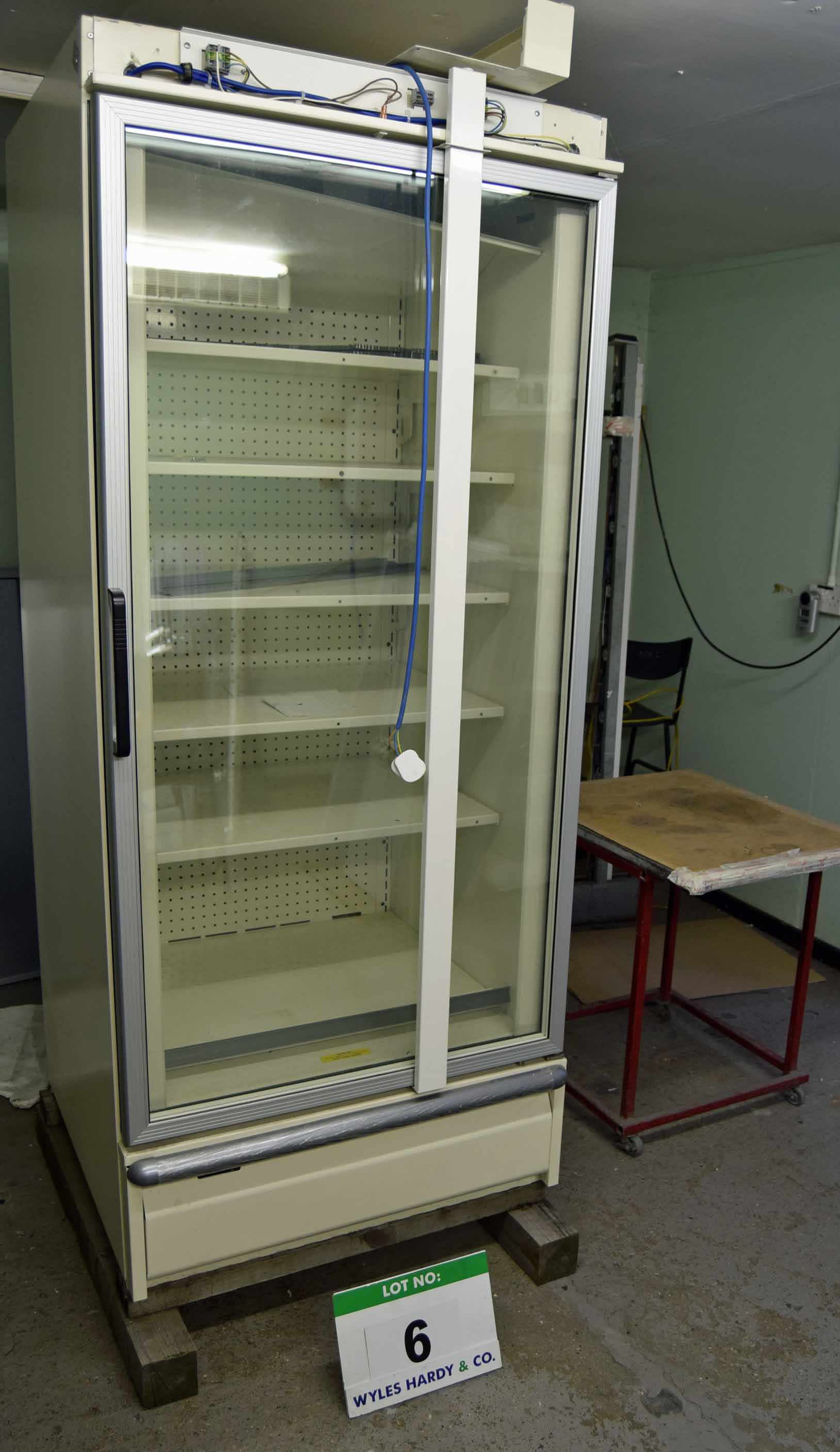 Lot 6 - A VERCO W312 Single Door Chiller Test Rig including Remote Fan Bar, Chiller Tubs and Bolt-On Panels