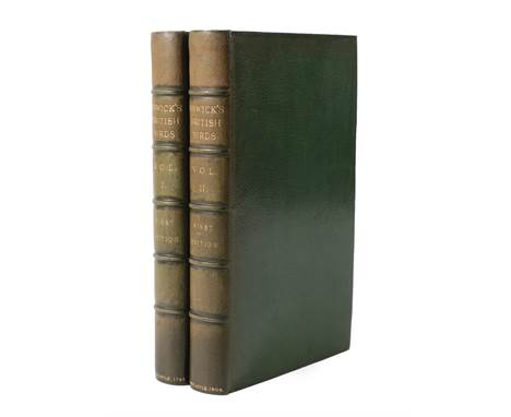 Bewick (Thomas) History of British Birds, Volume I containing the History and Description of Land Birds, Newcastle; Beilby &a