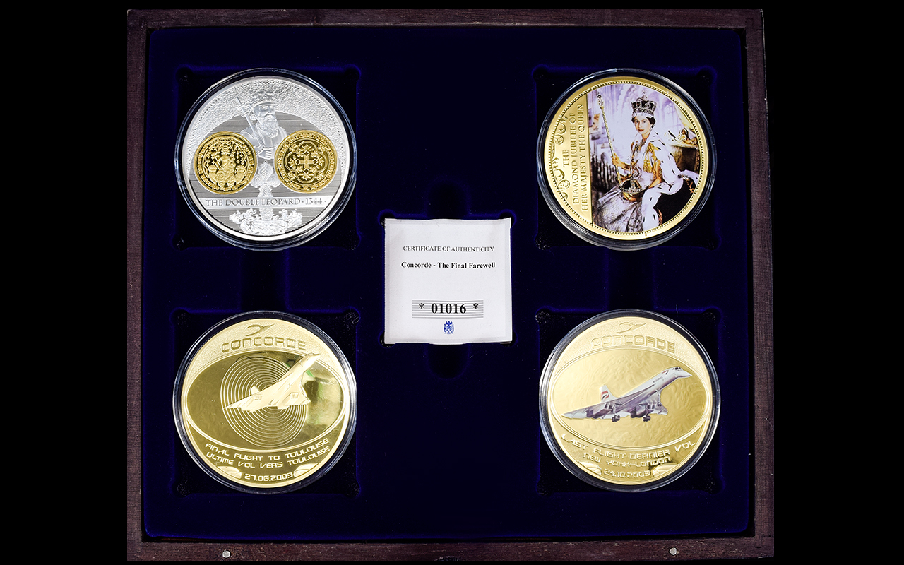 Lot 233 - Windsor Mint Collection of Super Size Co