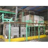(Lot) Wheel Wash Line System Consisting Of: (1) 9000 Gal. Mix Water Solution Tank, (1) 3000 Gal.