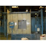 (Lot) (2) Nordson Sure Coat Down Draft Powder Coating Booths w/ Guns & (1) Touch Up Spray Booth,