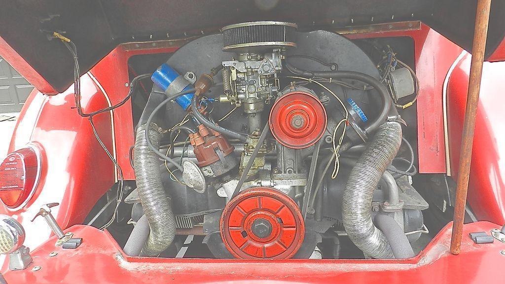 Lot 104 - Red Convertible. MiGi II Replica.