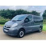 (RESERVE MET) Vauxhall Vivaro 2.0 CDTI 2900 Minibus - 2014 Model - Wheel Chair/Mobility NO VAT -