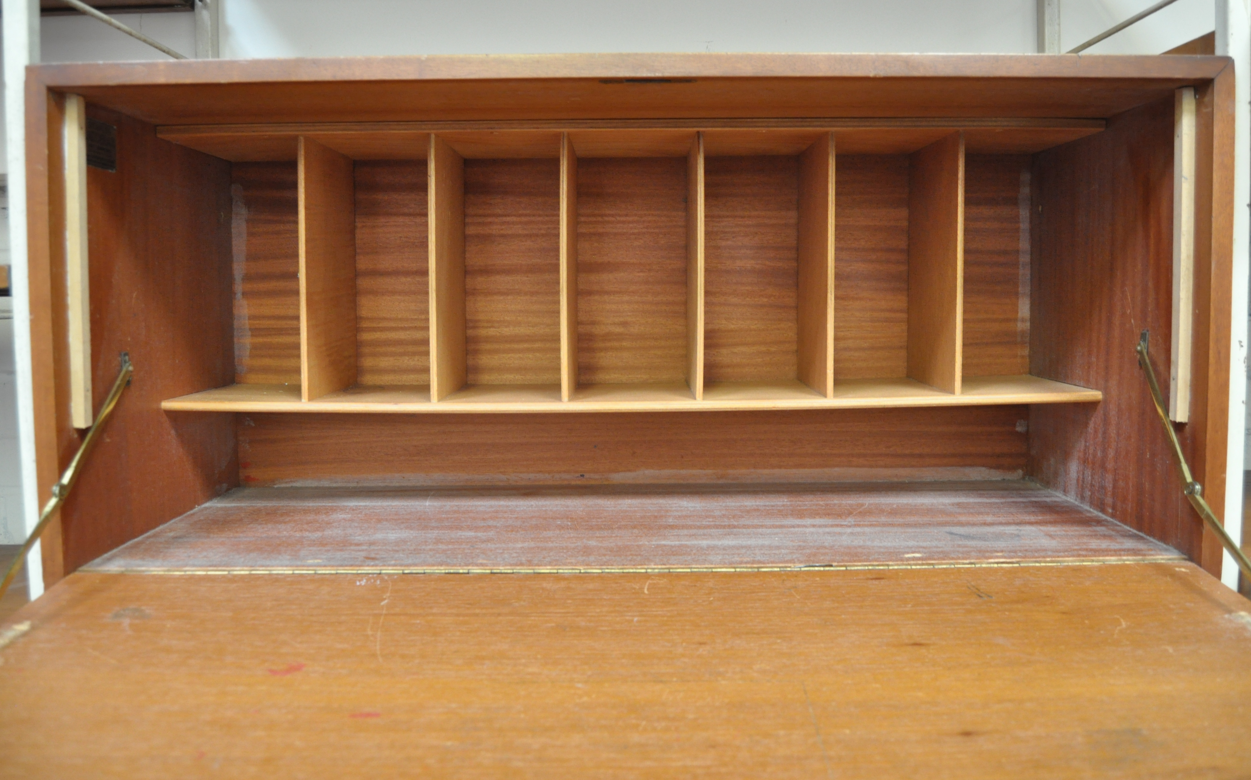 Lot 54 - RETRO VINTAGE LADDERAX SHELVING UNIT MADE BY STAPLES