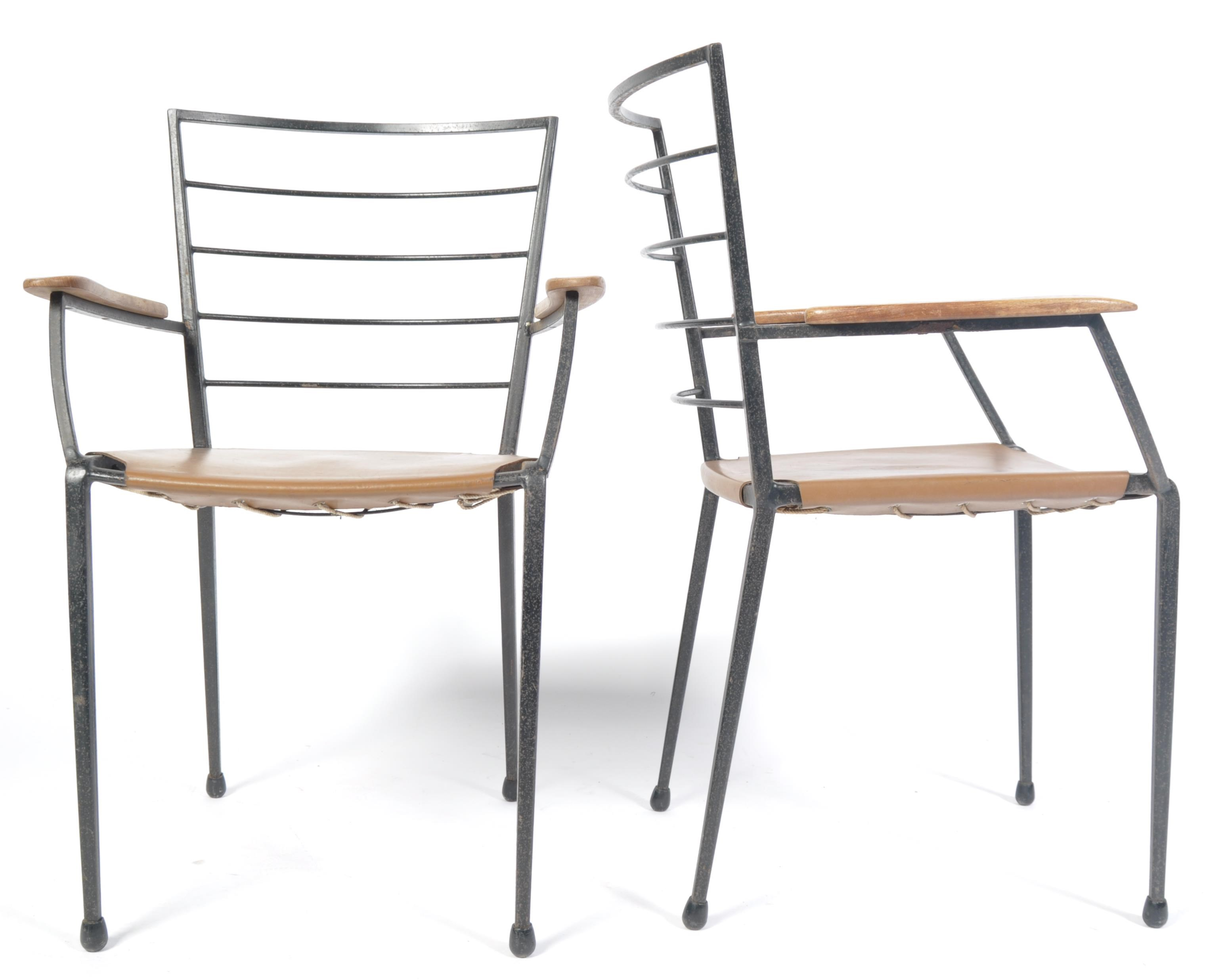 Lot 38 - RARE STAPLES 1970'S LADDERAX CHAIRS BY ROBERT HEAL